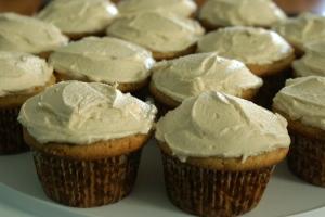 White Russian Cupcakes Using Cake Mix