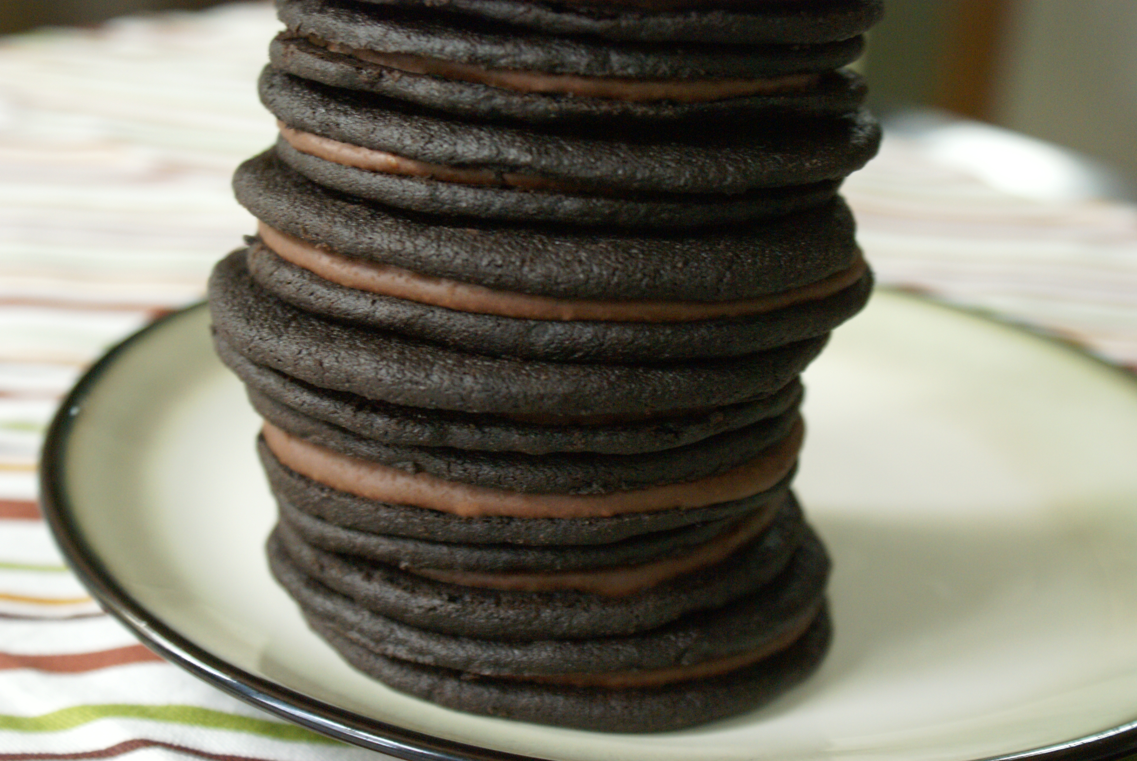 Double Chocolate Espresso Sandwich Cookies | Hoping in God