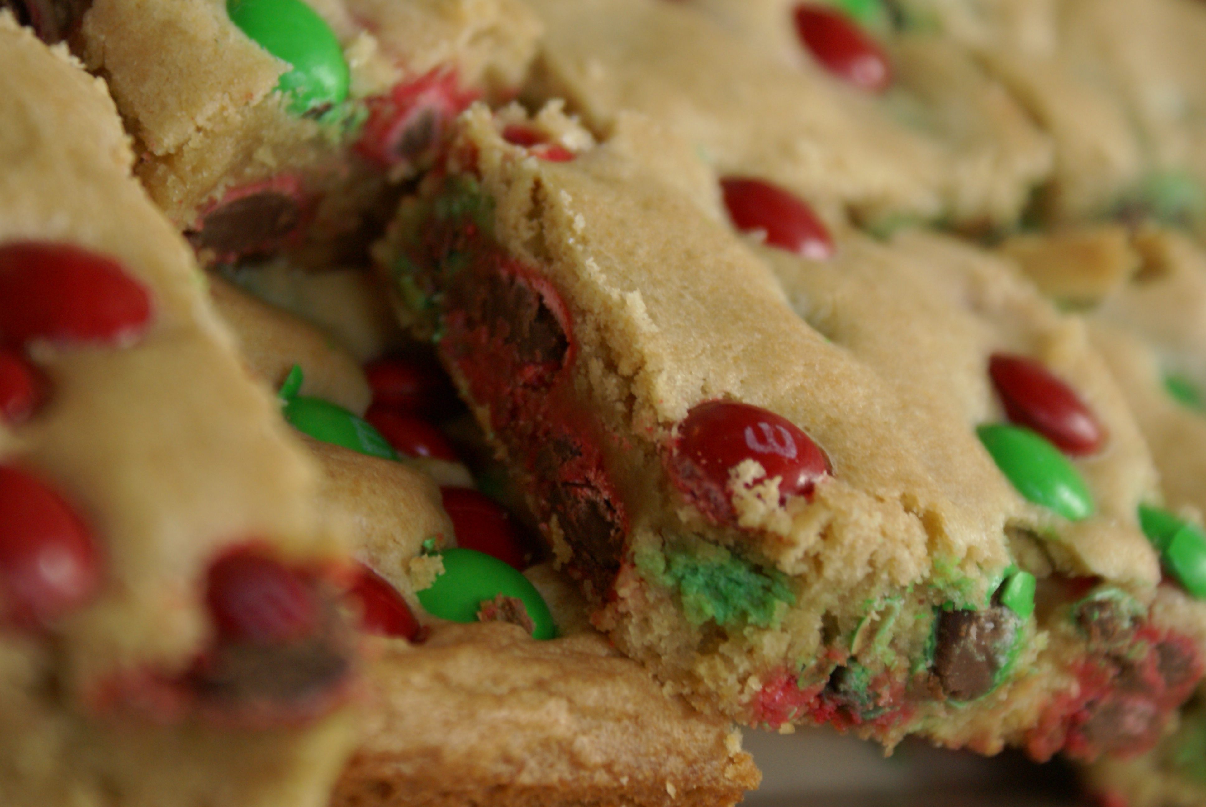12 Days Of Christmas Cookies 4 M M Blondies Hoping In God