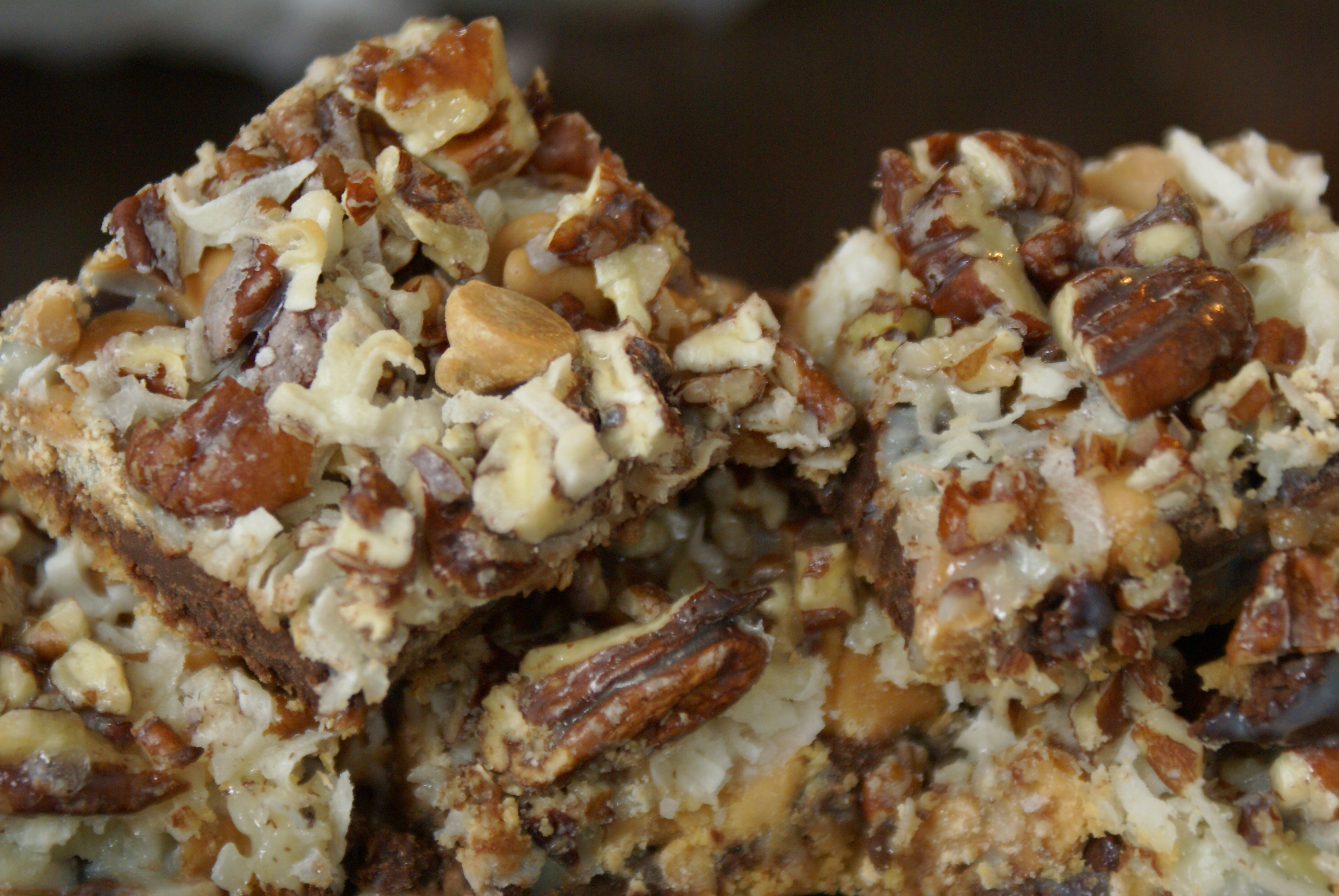 ... seven layer bars magic bars or some other normal title in my family
