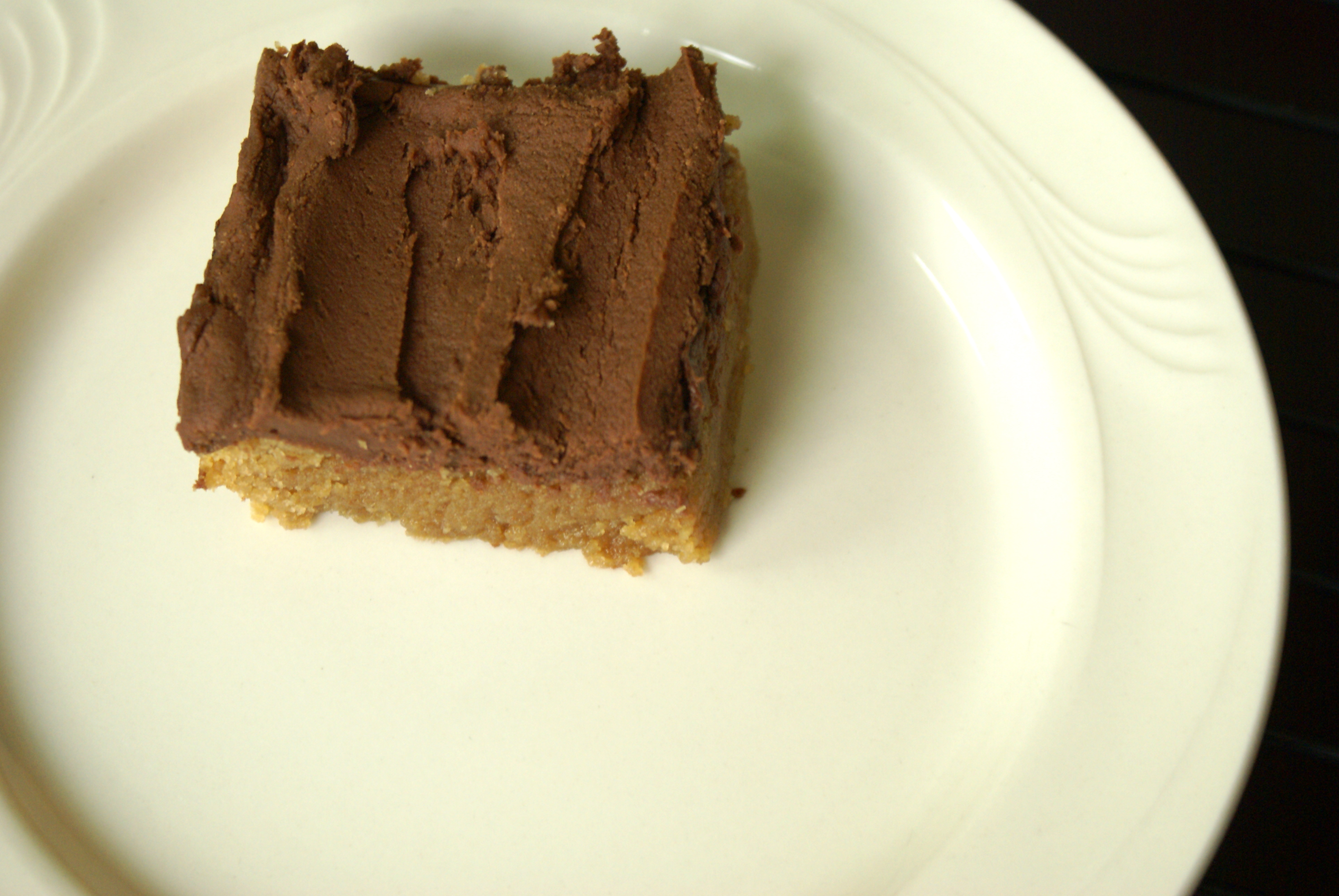 Tasty Tuesday – Peanut Butter Blondies with Chocolate ...