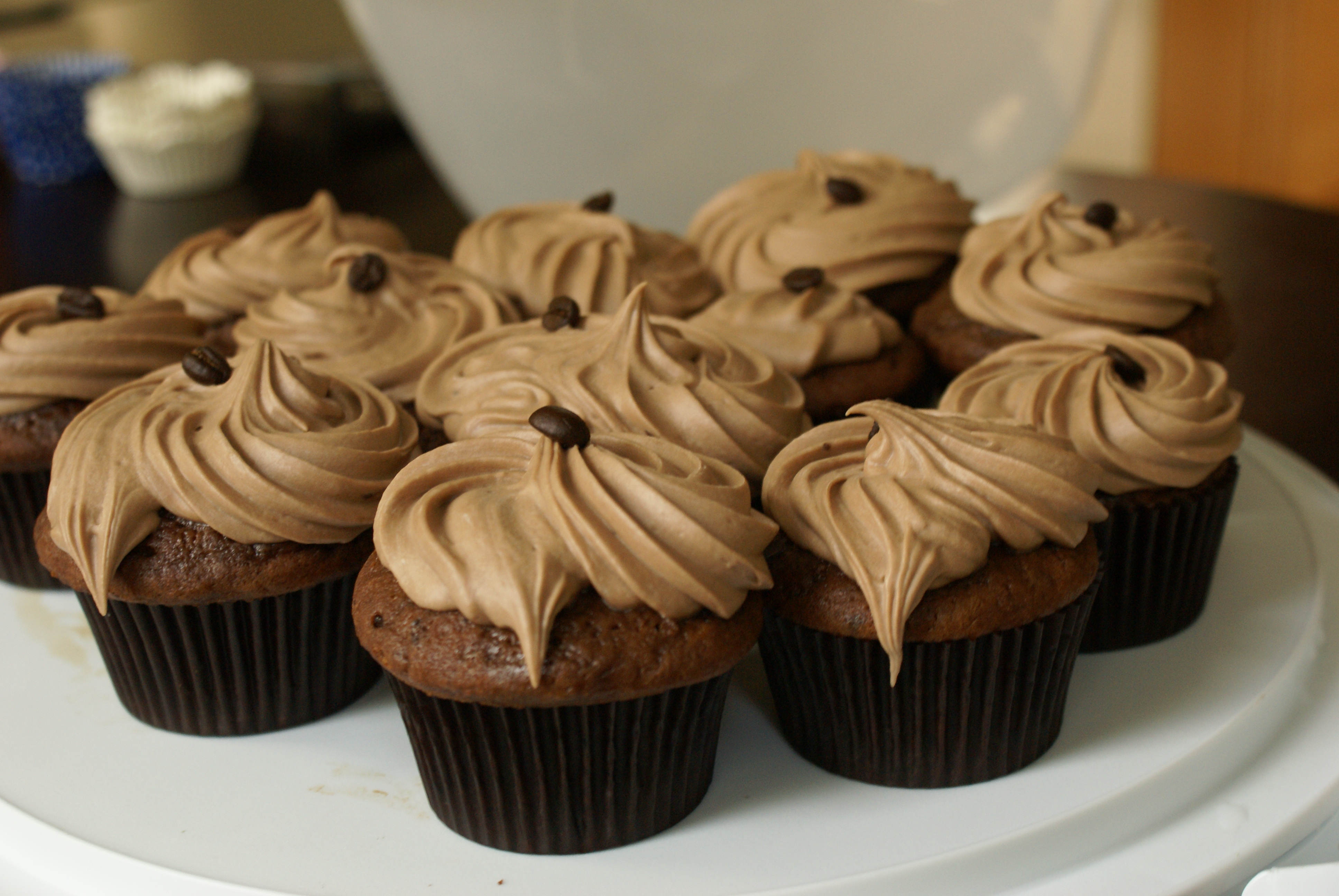 The Best Pick Me Up Coffee Drenched Cupcakes Hoping In God