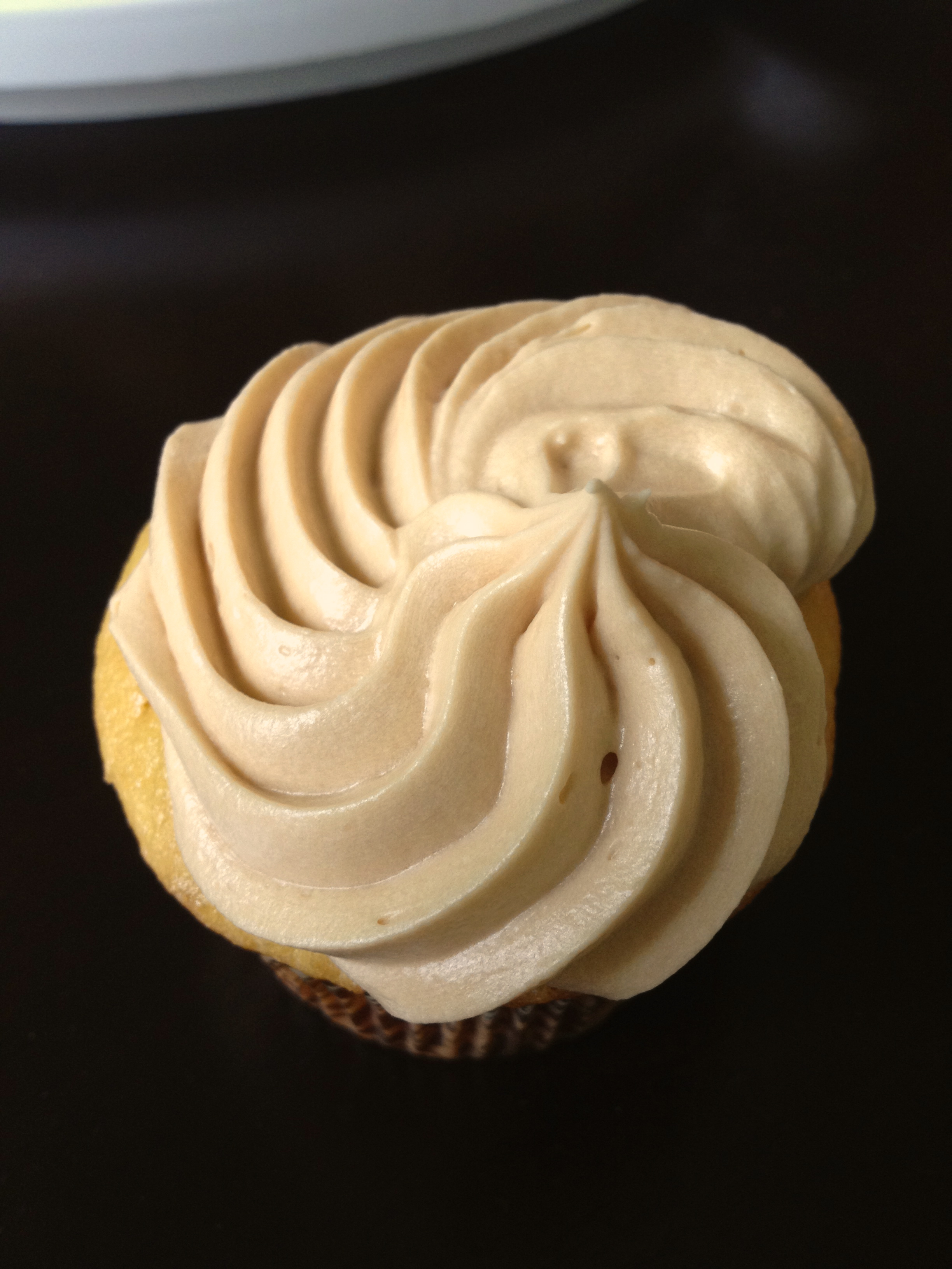Chocolate-Mayonnaise Cupcakes With Caramel-Butterscotch Buttercream ...