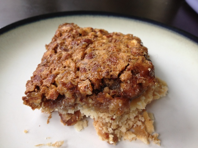 Pecan Pie Bars from Hoping in God