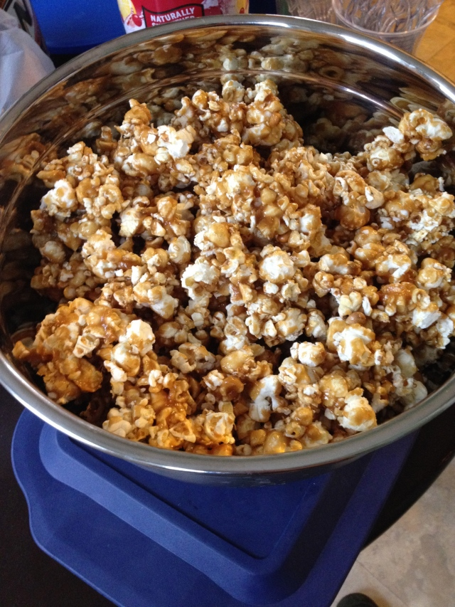 Sweet & Salty Caramel Corn from Hoping in God